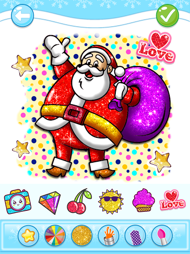 Christmas Coloring Game - Learn Colors  screenshots 14