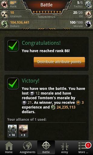 War Game - Combat Strategy Online  Screenshots 7