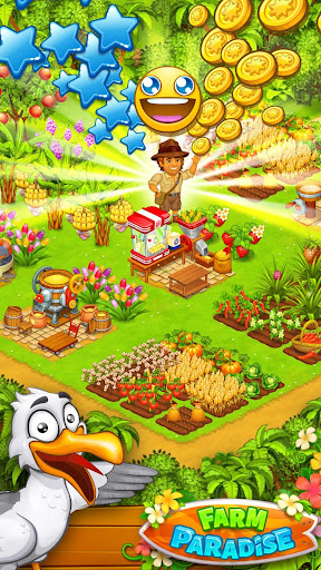 Farm Paradise - Fun farm trade game at lost island apktram screenshots 3