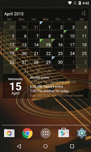 Download APK: Calendar Widget: Month + Agenda v1.32 [Unlocked] [Mod Extra]