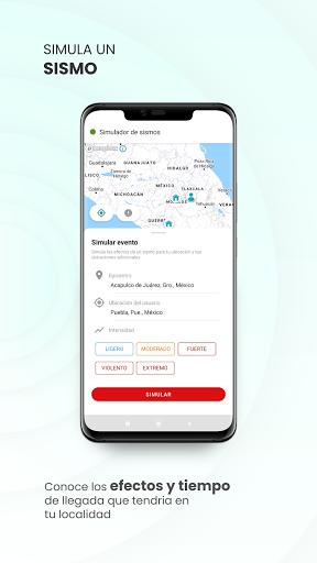 SASSLA: Sismos en tiempo real android2mod screenshots 3