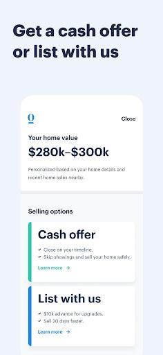 Opendoor Buy & Sell Homes 122.0.0 screenshots 4