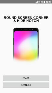 Round screen corners and Hide notch