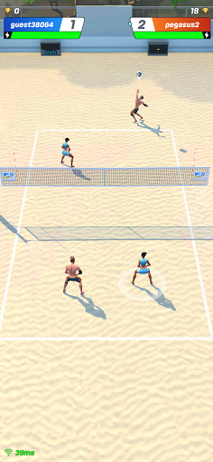Volley Clash: Free online sports game screenshots 1