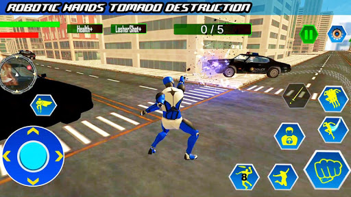 Police Robot Speed hero: Police Cop robot games 3D 5.2 Screenshots 5
