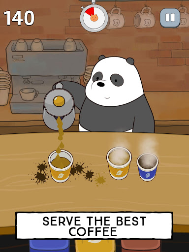 We Bare Bears - Free Fur All: Mini Game Arcade  Screenshots 12