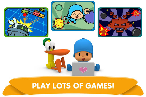 Pocoyo Arcade Mini Games - Casual Game for Kids 2.2 updownapk 1