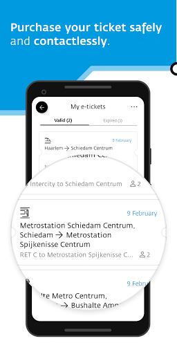 9292 - travel planner for train, bus, metro & tram 2.5.3 Screenshots 7
