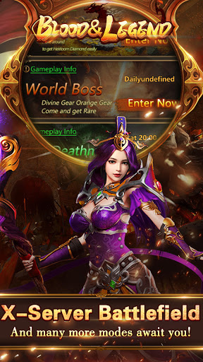 Blood & Legend:Dragon King hero mobile online game Apkfinish screenshots 11