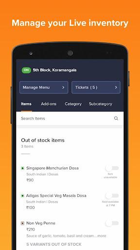 Swiggy Partner App modavailable screenshots 3
