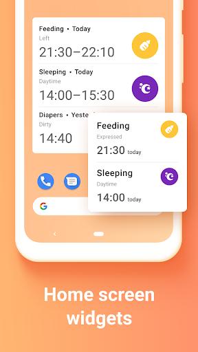 Baby Tracker. Breastfeeding Tracker. Newborn apktram screenshots 8