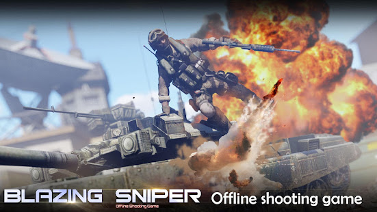 Blazing Sniper - offline shooting game 2.0.0 screenshots 1