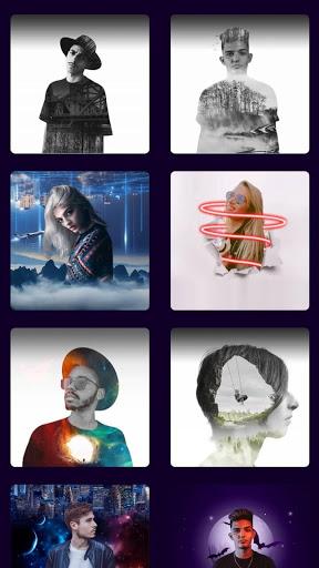 Square Pic Collage - Sunset Photo Editor Pro apktram screenshots 5