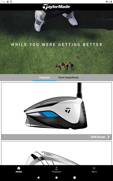TaylorMade Golf Product Guide screenshot 3