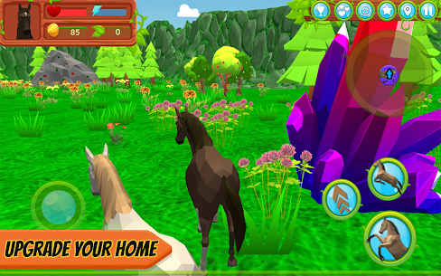 Horse Family – Animal Simulator 3D MOD (Gold Coins/Food) 4