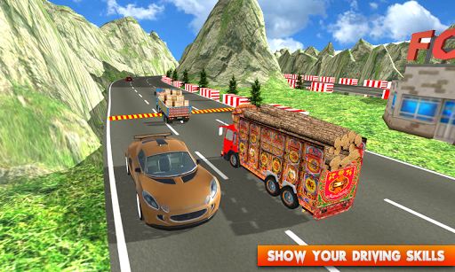 Euro Cargo Real Truck Driver apkpoly screenshots 5