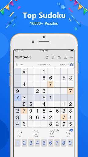 Sudoku - Classic free puzzle game 1.9.2 screenshots 1