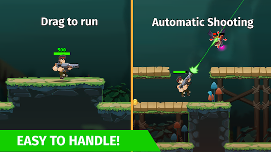 Auto Hero: Auto-fire platformer Mod Apk (God Mode) 1