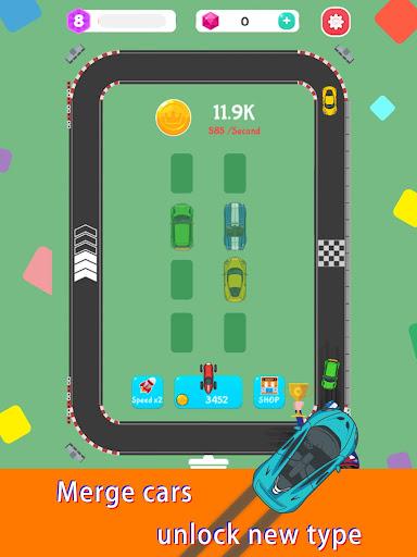 Merge Rally Car - idle racing game  screenshots 13