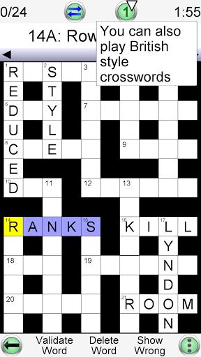Barred Crossword 3.0.4 screenshots 2
