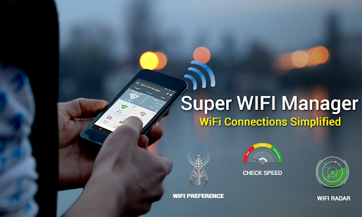 Super WiFi Manager Screenshot