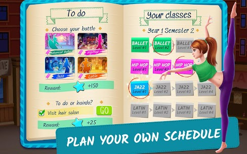 Dance School Stories MOD APK 1.1.28 (Unlimited Tickets, Unlocked Items) 4
