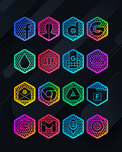 Hexanet APK- Neon Icon Pack [PAID] Download Latest Version 3