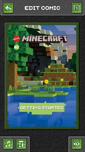 Comic Maker for Minecraft 1.16 Screenshots 4