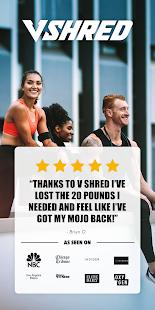 V Shred: Diet & Fitness 2.1.10 Screenshots 1