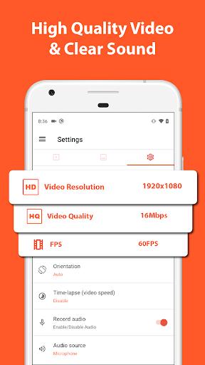 AZ Screen Recorder - Video Recorder, Livestream 5.5.8 Screenshots 3