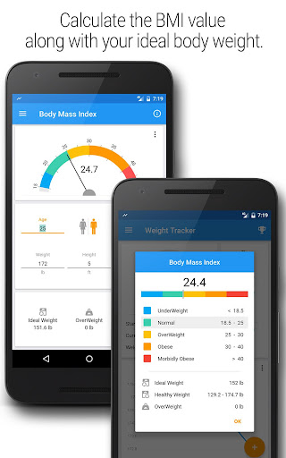 BMI and Weight Tracker 3.8.5 Screenshots 6