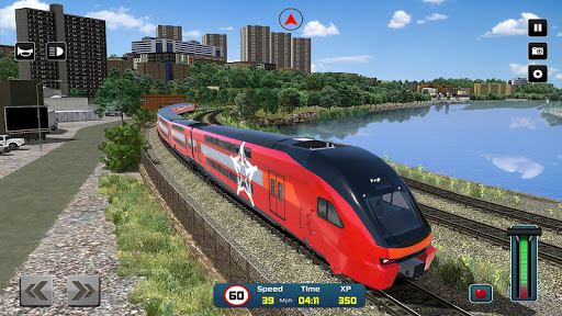 City Train Driver Simulator 2019: Free Train Games 4.4 Screenshots 11