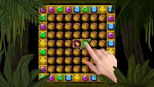 Secret Jungle Pop : Match 3 Jewels Puzzle 1.5.3 screenshots 1