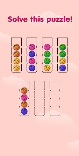 Ball Sort Puzzle - Color Sorting Game apkdebit screenshots 2