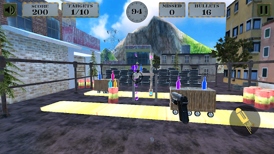 3d Bottle Shooting Gun Game Game Hack Android and iOS 4