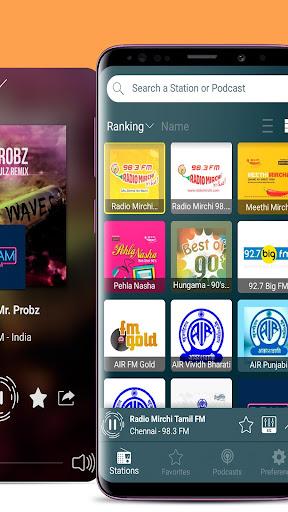 FM Radio India - all India radio stations 2.3.60 screenshots 2