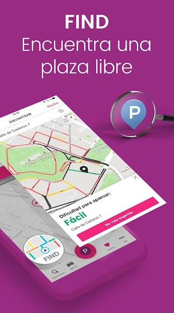 Captura de Pantalla 5 de EasyPark: busca parquímetro y aparca fácilmente para android