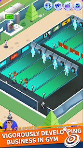 Idle GYM Sports Mod Apk 1.70 (Free Shopping) 4