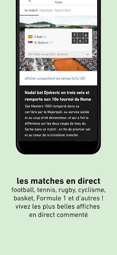 L'u00c9quipe - Sport en direct : foot, tennis, rugby.. apktram screenshots 5