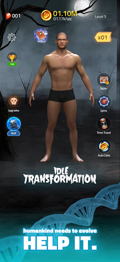 Idle Transformation modiapk screenshots 1