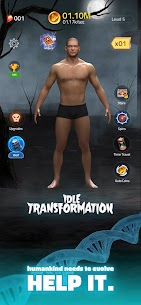 Idle Transformation Mod Apk 2.8 (Free Shopping) 1