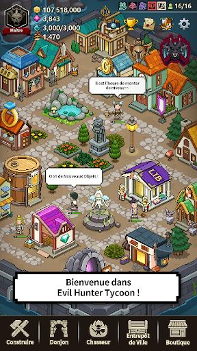 Code Triche Evil Hunter Tycoon (Astuce) APK MOD screenshots 2
