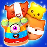Monster Bit Emoji Blitz Match3