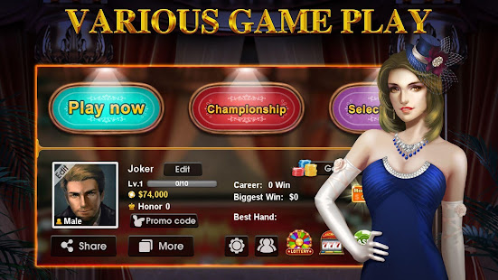 DH Texas Poker - Texas Hold'em 2.8.5 Screenshots 15