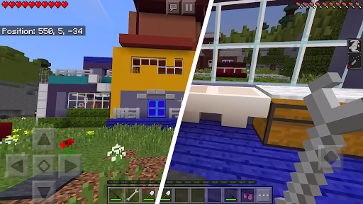 Neighbor alpha map for Minecraft PE android2mod screenshots 4