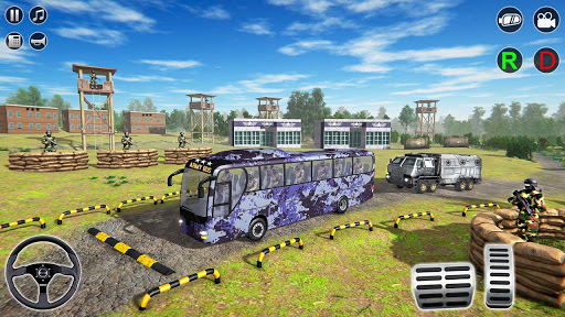 Army Bus Transporter Simulator 2020  screenshots 14