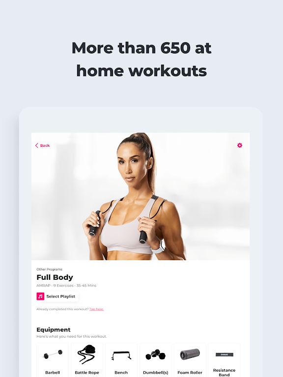 SWEAT: Fitness App For Women  poster 12