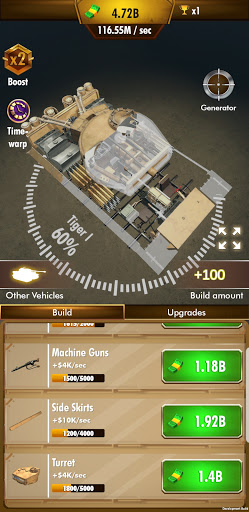 Idle Panzer 1.0.1.016 screenshots 5