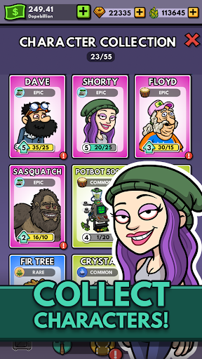 Bud Farm: Idle Tycoon - Build Your Weed Farm apkpoly screenshots 5