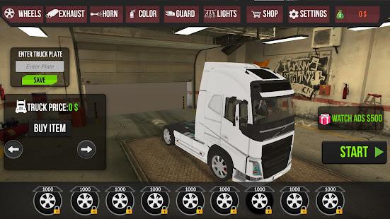Realistic Truck Simulator: International 1.0 screenshots 2